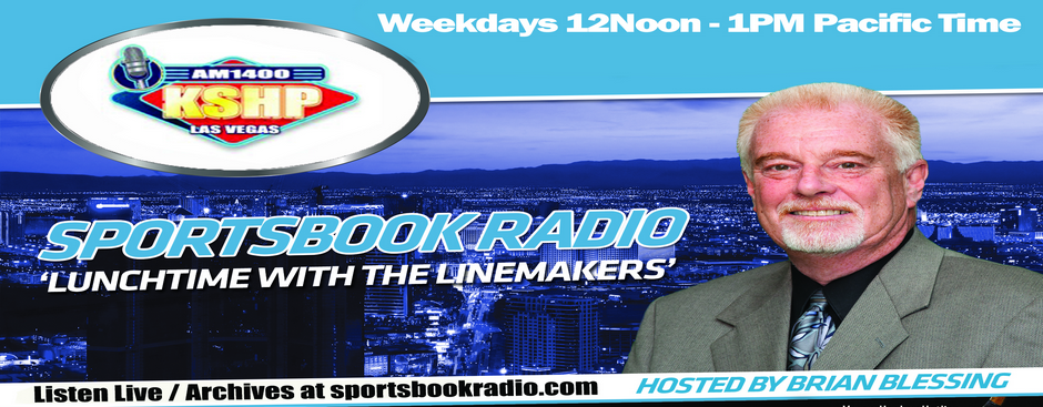 Brian Blessing, Host of SportsbookRadio